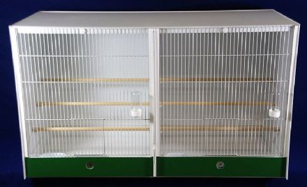 JH SHOP - Double Cage - FINCH / CANARY ~ 102X60X40 - Made to order - KKL-102602